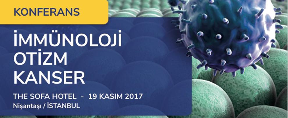 Uluslararası İmmünoloji, Otizm ve Kanser  Konferansı